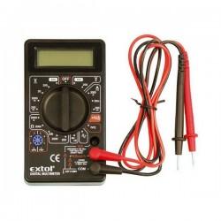 Multimetr digitální (U, I, R) s akustickou signalizací Extol Craft 600011