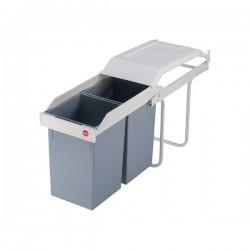 Vestavný třídič odpadu Multi-Box 2x15 Hailo 3659-001