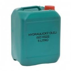 Hydraulický olej ISO VG22 5 litrů