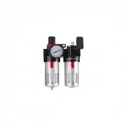 Regulátor tlaku s filtrem a manometrem a přim. oleje EXTOL PREMIUM (8865105)
