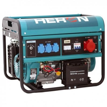 Heron EGM 60 AVR-3E rámová elektrocentrála 6000W
