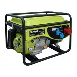Elektrocentrála benzínová 13HP, 6,0kW (400V)/2,2kW (230V), EXTOL CRAFT