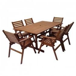 Zahradní stolová sestava MONROE 6