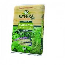 Substrát NATURA bylinková zahrádka 10l