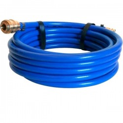 Vzduchová hadice PVC s rychlospojkami, délka 10m