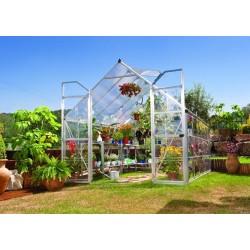Polykarbonátový skleník Balance 8x12 silver