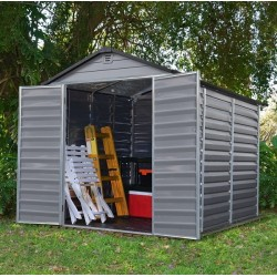 Zahradní domek Skylight 6x8 šedý