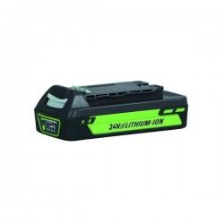 GreenWorks GW 2420 lithium iontová baterie  24 V/2 Ah