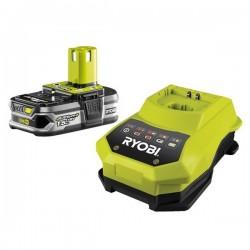 Ryobi RBC18 L15 sada 18 V lithium iontová baterie 1,5 Ah s nabíječkou