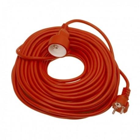 Prodlužovací kabel MIZAK DX-02-Y 1.5 25m červený