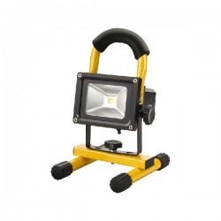 Nabíjecí LED reflektor 10W s podstavcem