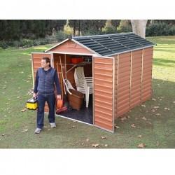 Zahradní domek Skylight 6x10 hnědý