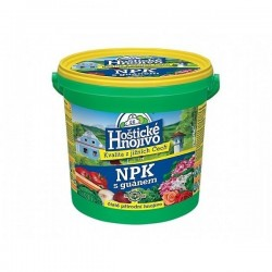 Hoštické NPK s guánem 8kg kbelík