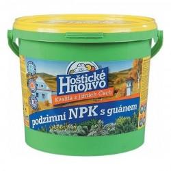 Hoštické podzimní NPK 4,5kg s guánem
