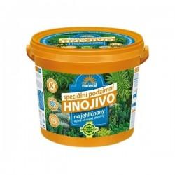 Podzimní granulované hnojivo pro jehličnany 5kg