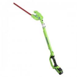 GreenWorks G24PH51 plotostřih dlouhým dosahem a aku motorem 24 V