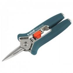 Nůžky zahradnické přímé, mini, 153mm, NEREZ