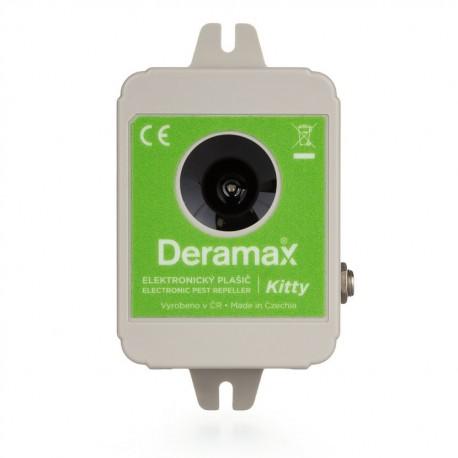 Deramax-Kitty - Ultrazvukový plašič (odpuzovač) koček a psů