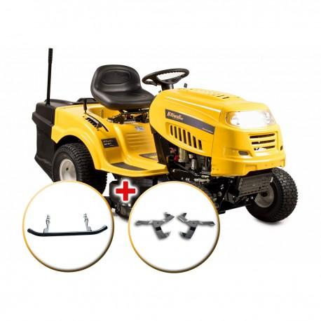 RLT 92 T POWER KIT - travní traktor se zadním výhozem a 6-ti stupňovou převodovkou Transmatic + nárazník