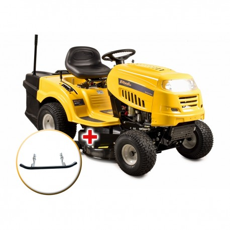 RLT 92 T - travní traktor se zadním výhozem a 6-ti stupňovou převodovkou Transmatic + nárazník