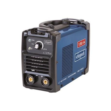 Scheppach WSE1000 svářecí invertor 130 A s příslušenstvím