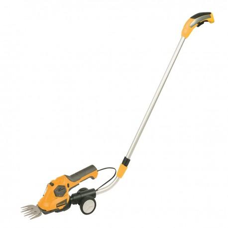 Riwall PRO RASH 1236 LH aku nůžky 3,6 V na trávu a keře s teleskopickou rukojetí