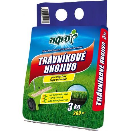 AGRO Hnojivo Trávníkové 3 kg