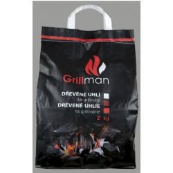 GRILLMAN Dřevěné uhlí 2 kg