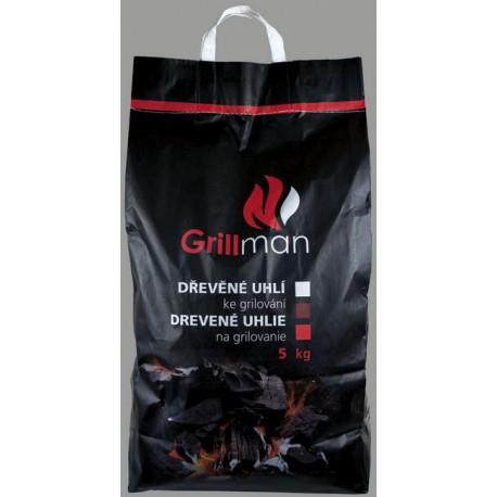 GRILLMAN Dřevěné uhlí 5 kg