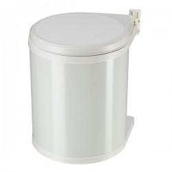 Vestavný odpadkový koš Hailo 3555-001 Compact-Box 15 bílý lak