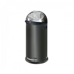 Velkoobjemový odpadkový box Hailo KickVisier 50 černý 0850-459