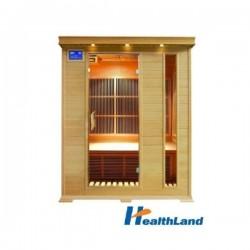 HealthLand Infrasauna DeLuxe 3003 Carbon