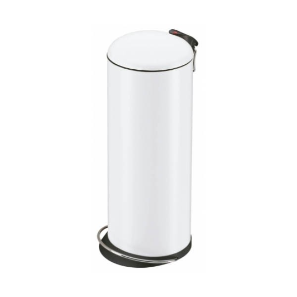 Nášlapný odpadkový koš Hailo TOPdesign L bílý 0523-219
