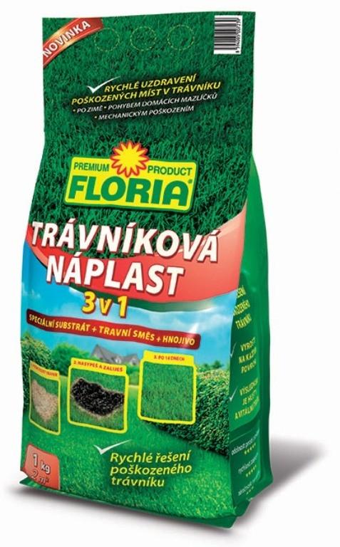 Trávníková náplast 3 v 1 Floria 1kg