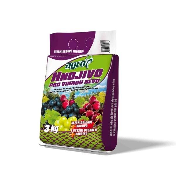 AGRO AGRO hnojivo pro vinnou révu 3 kg Hnojivo pro vinnou révu 000324