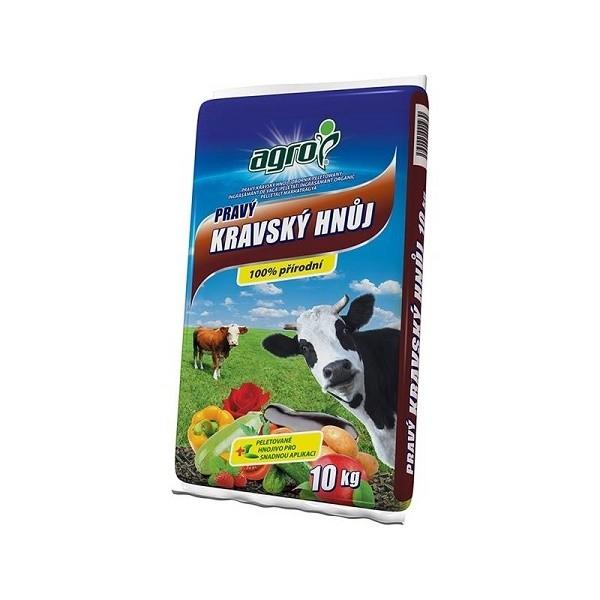 AGRO AGRO Kravský hnůj 10 kg Kravský hnůj 000771