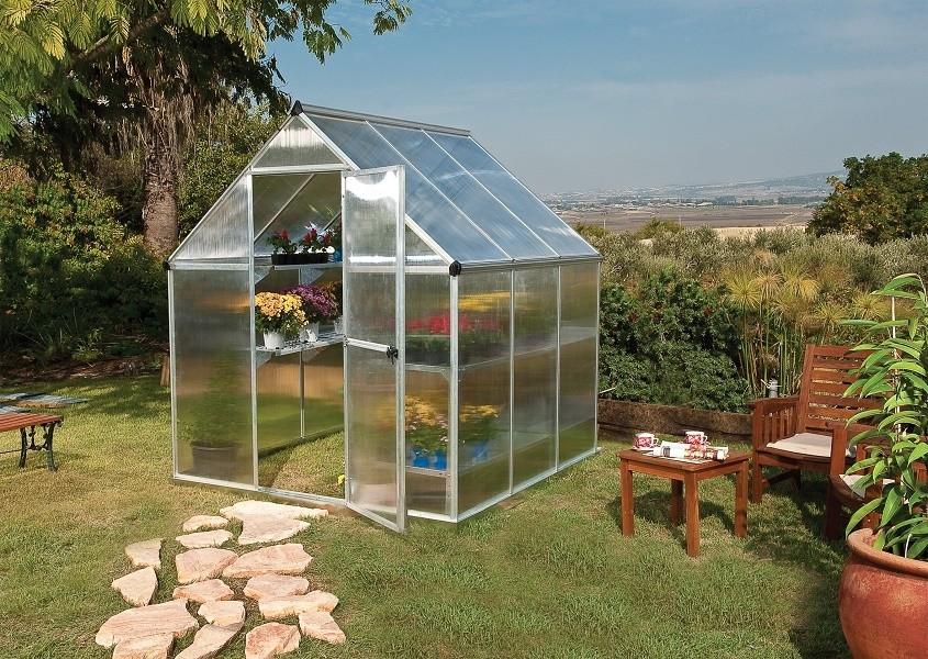Polykarbonátový skleník Palram multiline 6x6