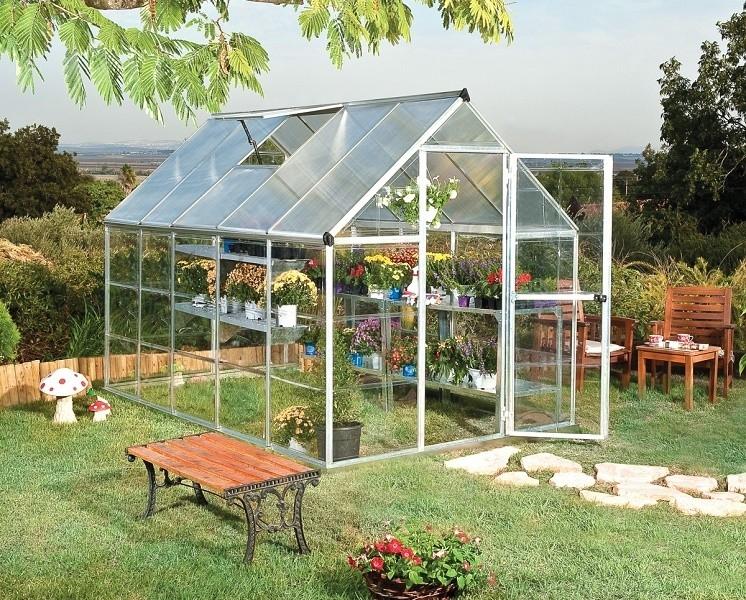 Polykarbonátový skleník Palram hybrid 6x10