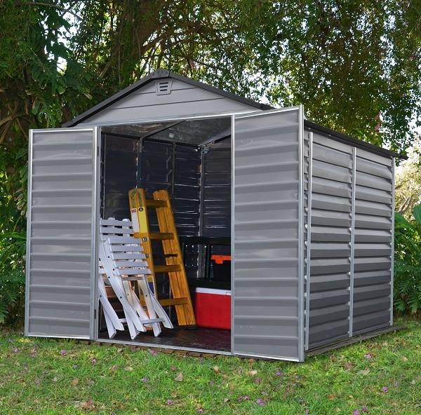 Zahradní domek Skylight 6x8 šedý Skylight 6x8 šedý