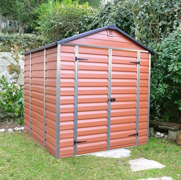 Zahradní domek Skylight 6x8 hnědý Skylight 6x8 hnědý