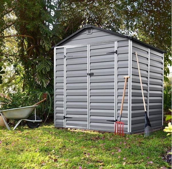 Zahradní domek Skylight 6x5 šedý
