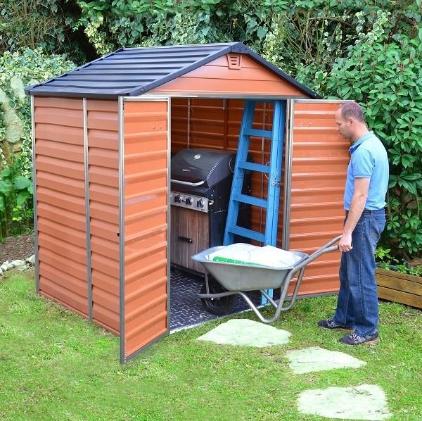 Zahradní domek Skylight 6x5 hnědý Skylight 6x5 hnědý