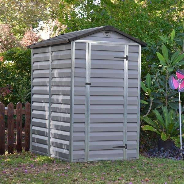 Zahradní domek Skylight 4x6 šedý