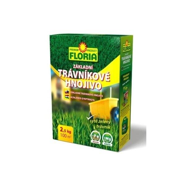 FLORIA FLORIA Trávníkové hnojivo základní 2,5 kg Hnojivo 008207