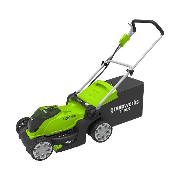 GreenWorks G40LM41 40 V aku travní sekačka 41 cm