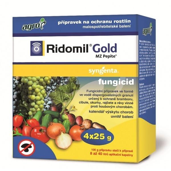 AGRO AGRO Ridomil Gold MZ Pepite 4x25 g Ridomil Gold 017162