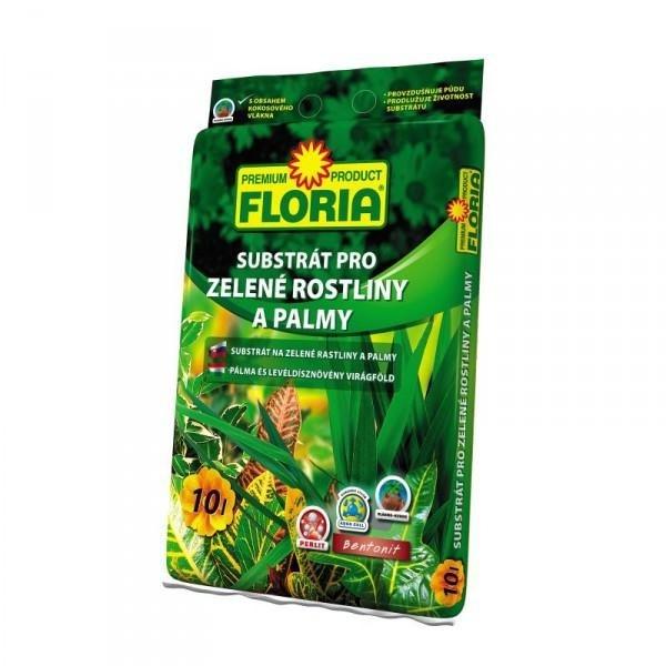 FLORIA FLORIA Substrát pro zelené rostliny 10l Substrát 00814A