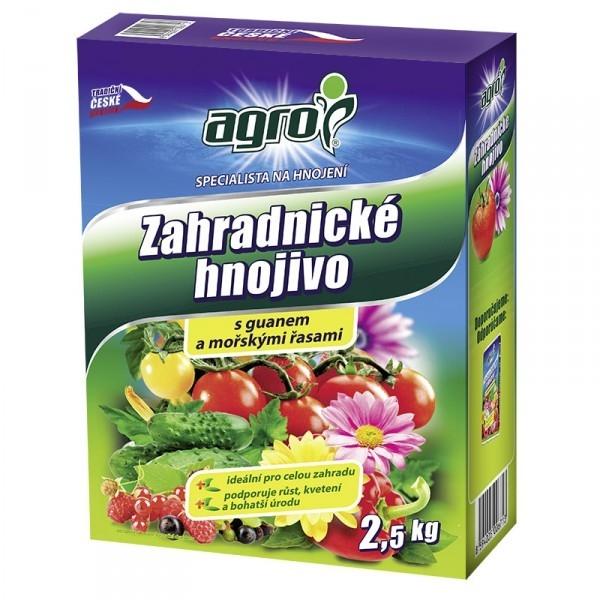 AGRO AGRO Zahradnické hnojivo 2,5 kg Zahradnické hnojivo 000863