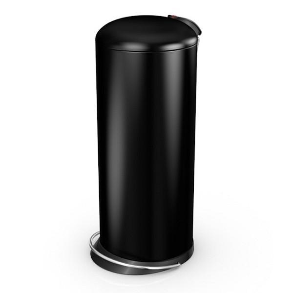 Nášlapný odpadkový koš Hailo TOPdesign L 0523-229 černá