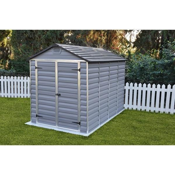 Zahradní domek Skylight 6x10 šedý